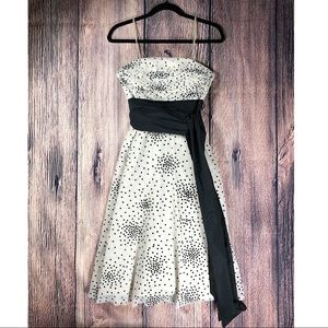BCBG Polka Dot Dress